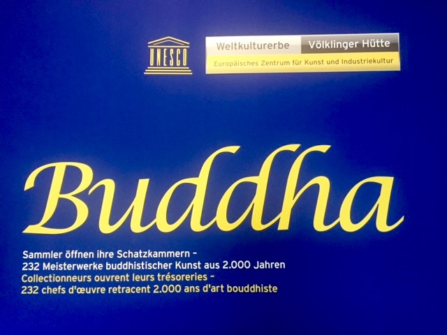 buddha exhibition, TalkWellness, Anja Eva Keller